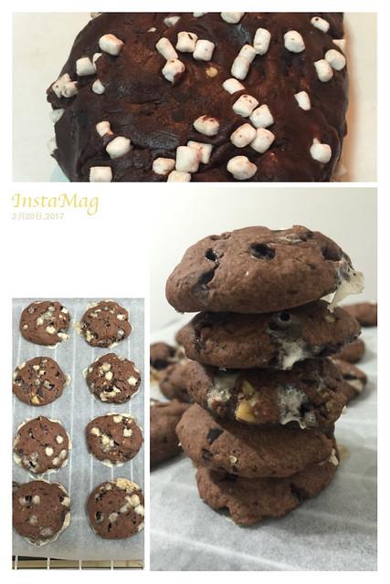 綿花糖巧克力餅乾
