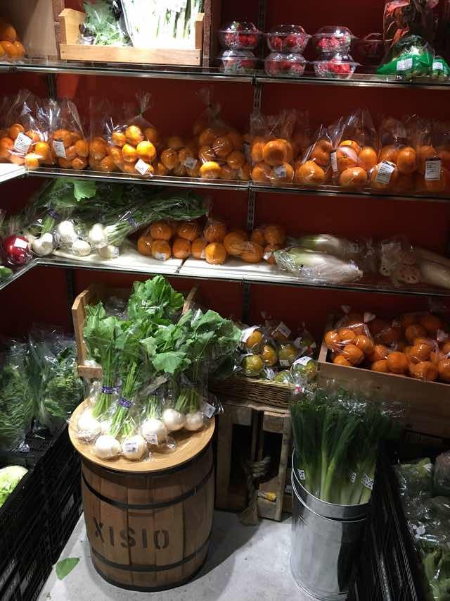 野菜室の中