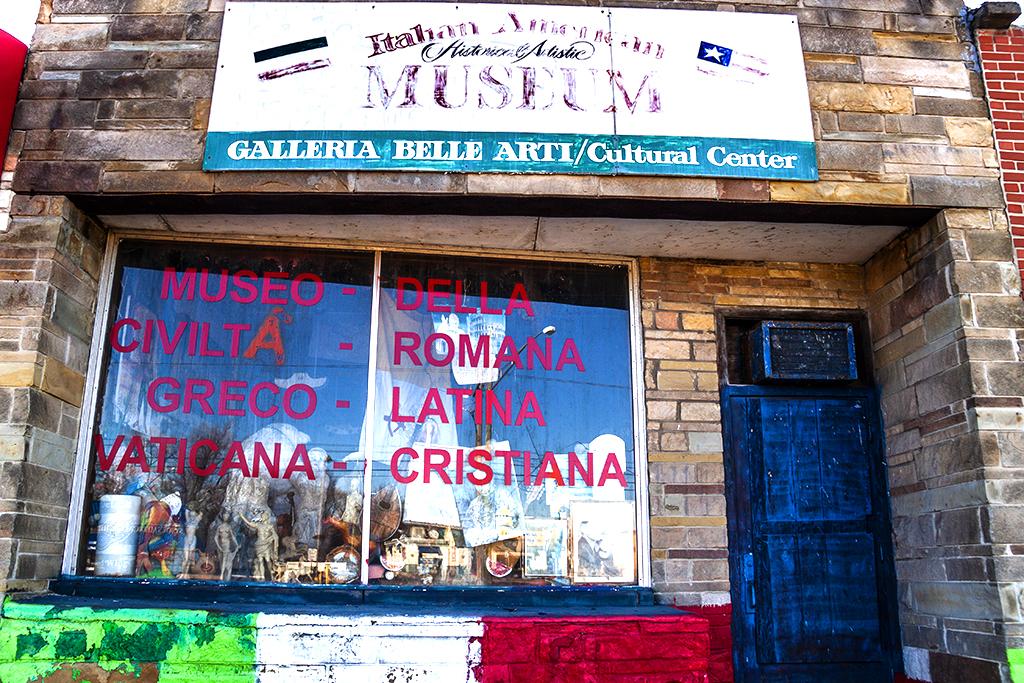 Italian American Historical Artistic MUSEUM--Redford 2