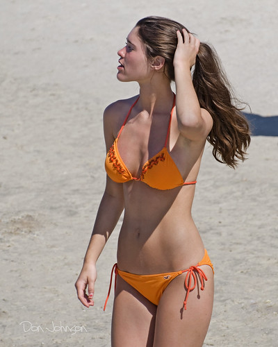 FM Beach orange bikini_2456