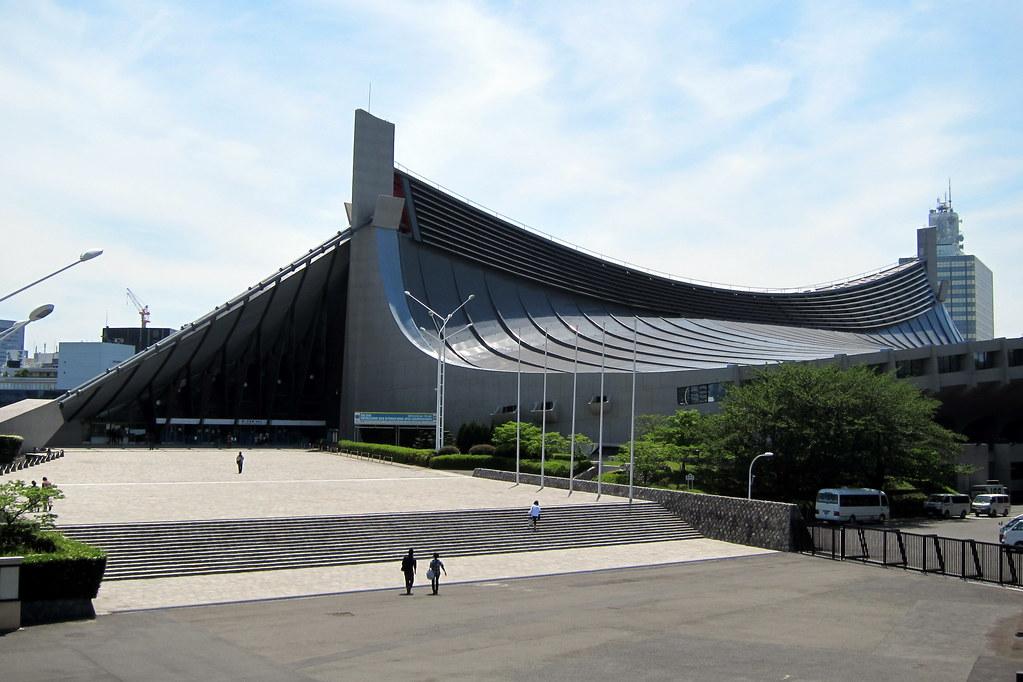 Tokyo - Harajuku: Yoyogi Koen - Yoyogi National Gymnasium