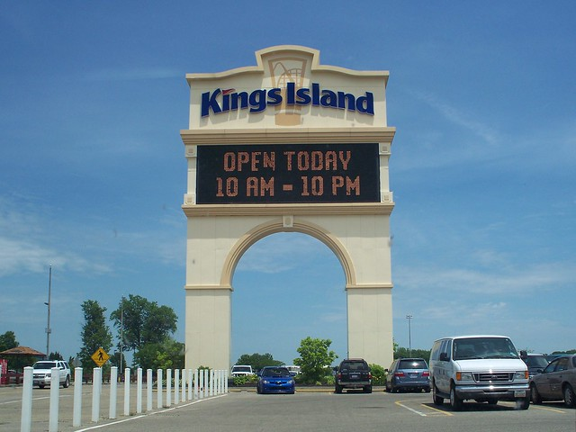 Kings Island - Sign