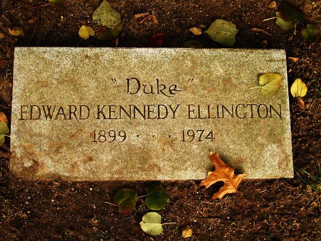 Duke Ellington S Grave Flickr Photo Sharing