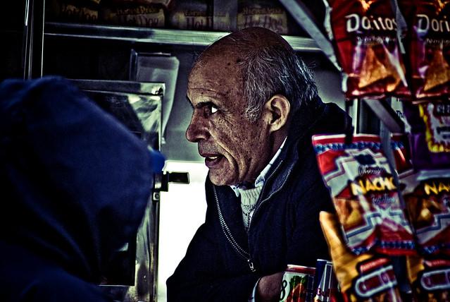 Street Corner Vendor