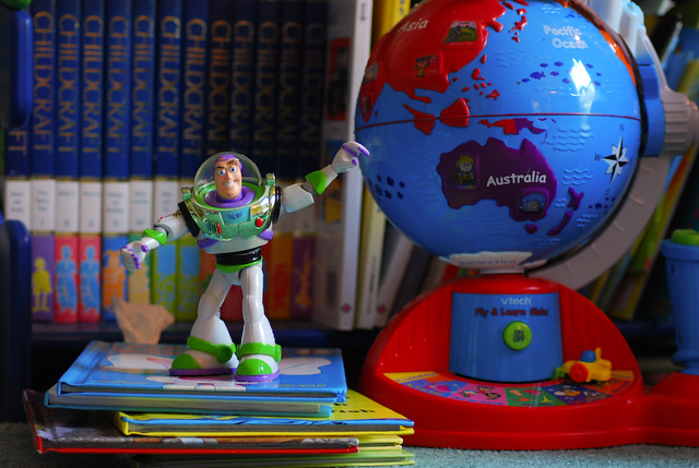 To Infinity and Beyond, As Soon as You Clean up This Room...