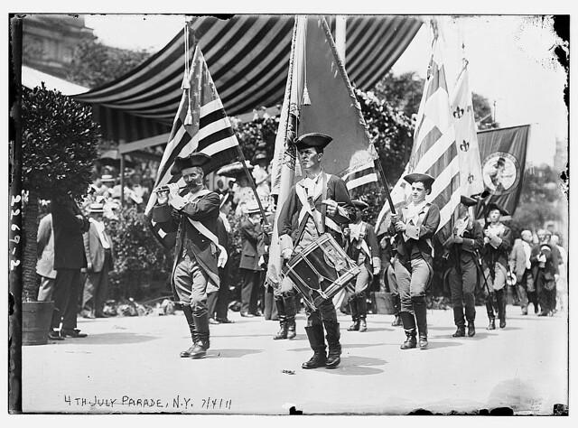 4th July Parade, 1911, N.Y.  (LOC)