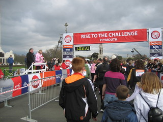 Closer to starting - Sport Relief 2008 @ Plymouth