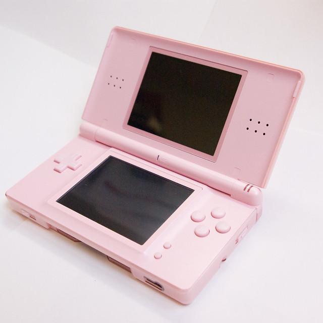 nintendo ds lite in pink flickr photo sharing. Black Bedroom Furniture Sets. Home Design Ideas