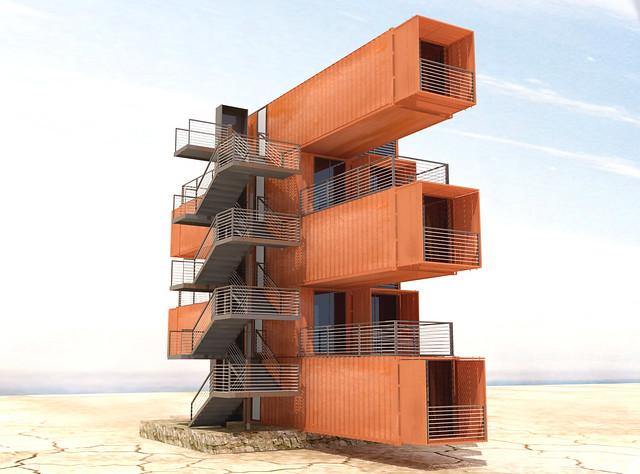 vivre dans un container a gallery on flickr. Black Bedroom Furniture Sets. Home Design Ideas