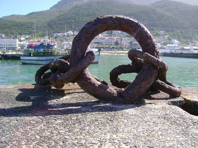 Kalk Bay harbour.