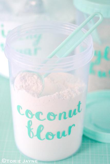 Sizzix labels - Coconut Flour