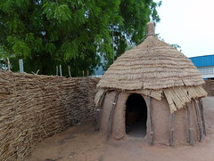 ancient history(0.0), temple(0.0), thatching(1.0), hut(1.0), wood(1.0), cob(1.0),