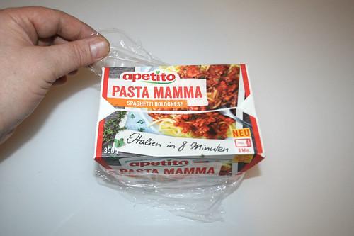 04 - apetito Pasta Mamma - Folie entfernen / remove foil
