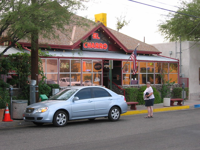 El Charro Mexican Restaurant Downtown Tucson