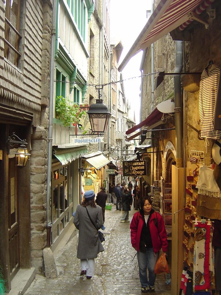 Grand Rue - Mont Saint Michel