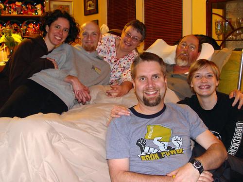 Reid Family Thanksgiving PJ Portrait