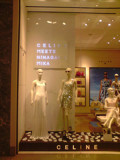 Celine window display