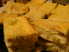 meal, galaktoboureko, baked goods, produce, food, focaccia, dish, cuisine,