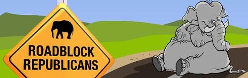 Roadblock Republicans