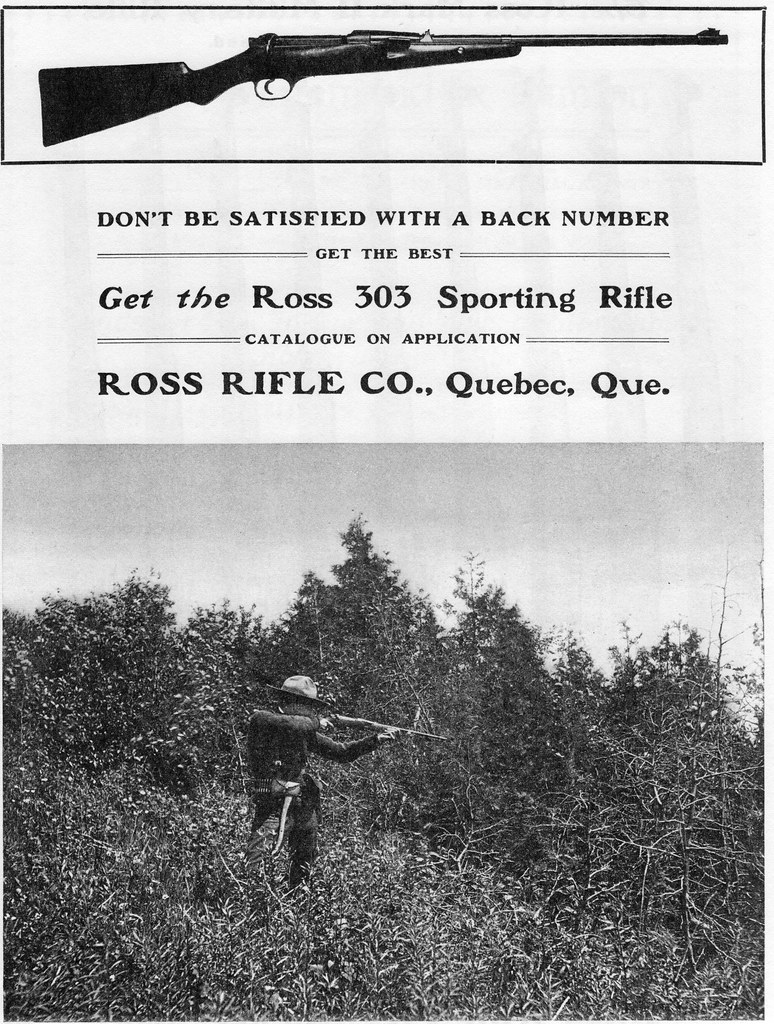 The Ross 303 Sporting Rifle | From the photo, I'd guess the … | Flickr