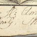 Ao. 1679 [illegible words] Matthaus Merian[?]