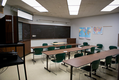Fulton Montgomery Community College - Class room