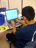 Fuentes student, Fall 2008