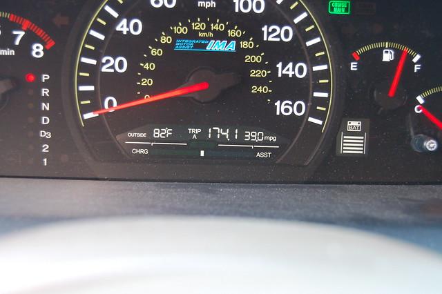 2005 honda accord hybrid fuel economy flickr photo for Honda accord fuel economy