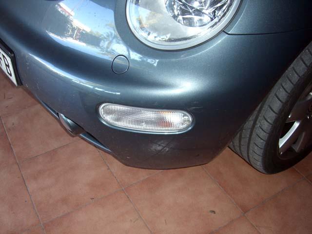 Como cambiar el intermintente delantero club new beetle - Quitar rayones coche facilmente ...