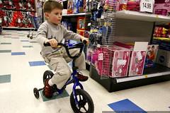 nick riding a baby bike    MG 6699
