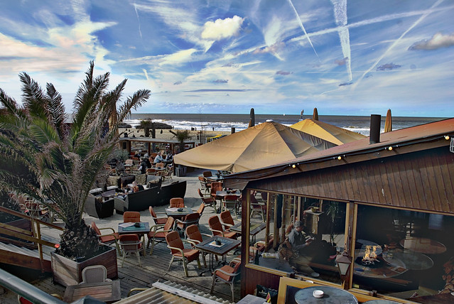 Scheveningen beach bar