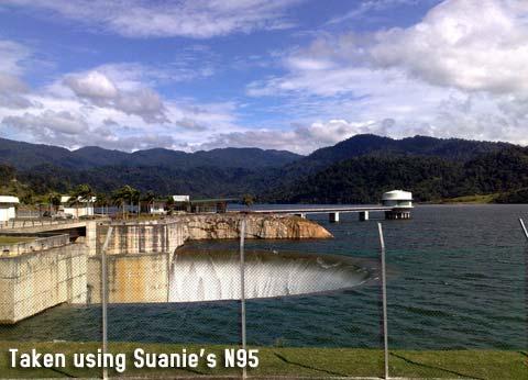 Chiling Falls, Selangor - 01 - Selangor dam