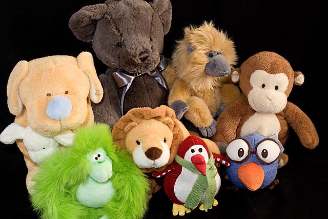Stuffed Monkey Dog Toy