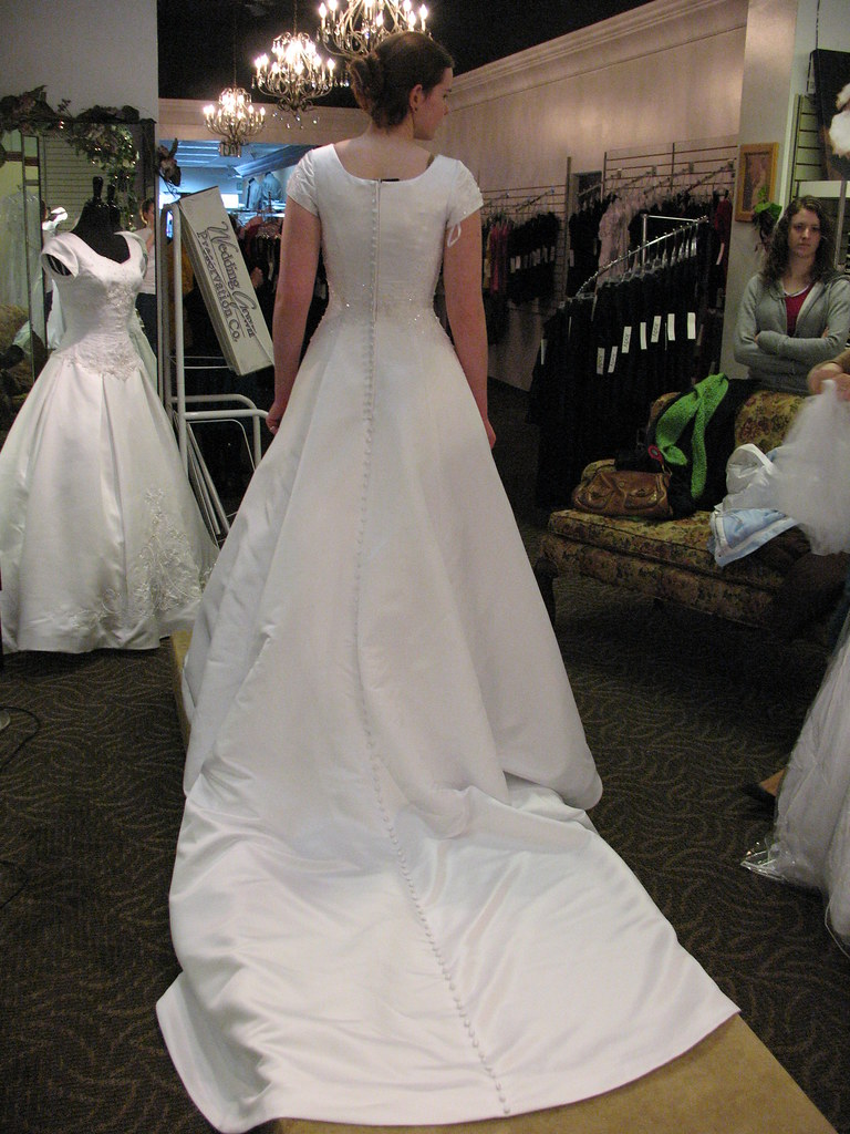mormon wedding dresses