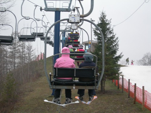 Skiing holidays are great for big families