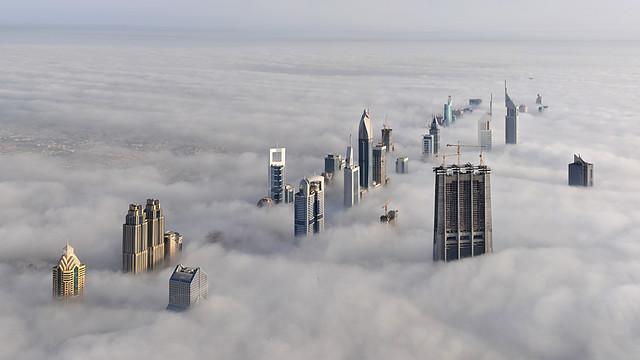 Dubai from the Burj