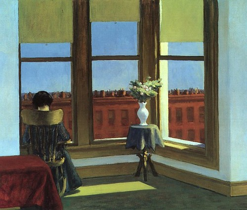 Edward Hopper, Room in Brooklyn, 1932