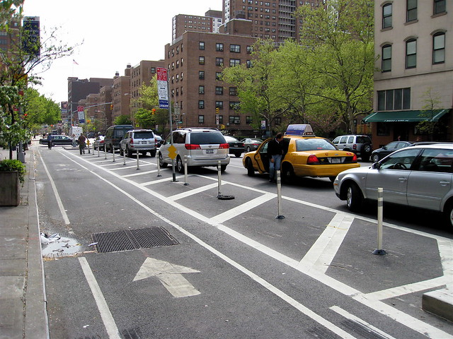9th Avenue Cycle Track Parking