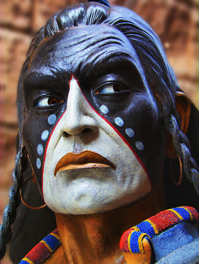 JH Blackfoot Native American Statute | © 2009 Jerry T Patter… | Flickr