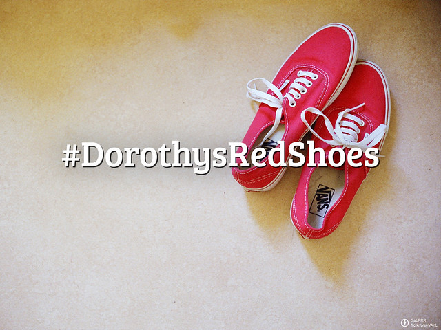 Flickr Friday: #DorothysRedShoes | One of the most famous movies, The Wizard of Oz, has inspired many of us. This week we'd like you to shoot a photo of Dorothy Gales red shoes in the wild.