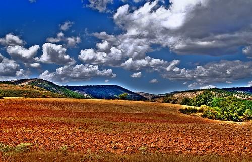 Salinas del Manzano (HDR) - Vista desde el calvario