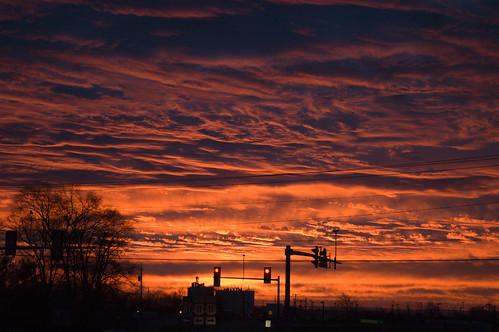 morning light sunrise early