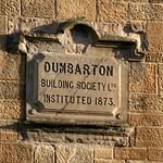 Dumbarton Building Society sign