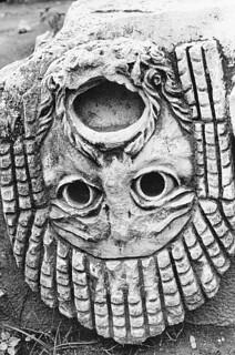 Upside down in Termessos