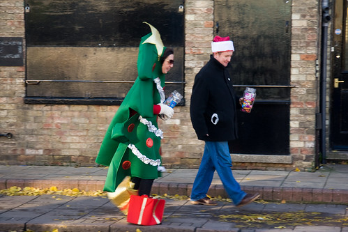 Walking Christmas tree