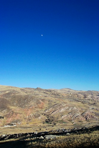 moon mountains peru landscape free andes expanse