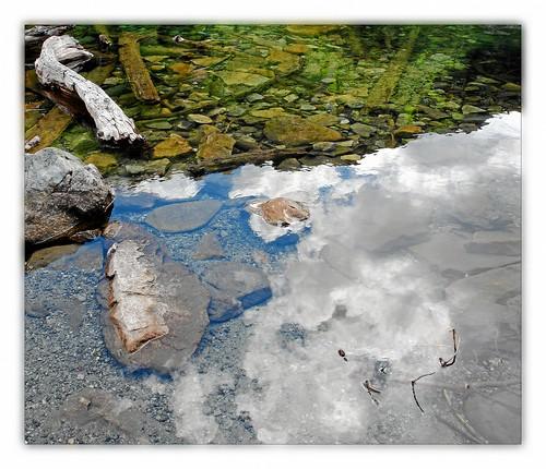 alps reflection österreich green water austria alpen hohetauern bösenstein scheibelsee edelrautehütte