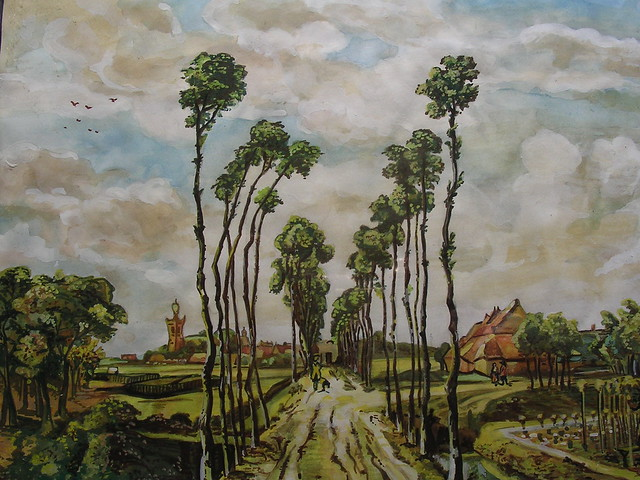 Meindert Hobbema's 'The Avenue at Middelharnis'.