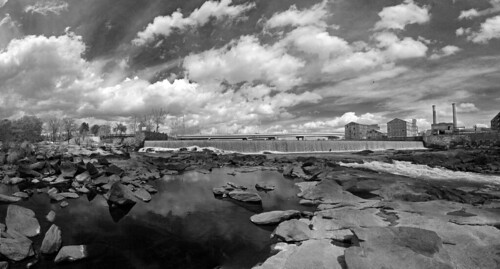 blackandwhite bw white black water river bass dam alabama wideangle industrialrevolution fisheye georga drought handheld f22 stripper 16mm zenitar shad piedmont photostitch chattahoochee coastalplain threadfin fallline russianlens 123bw