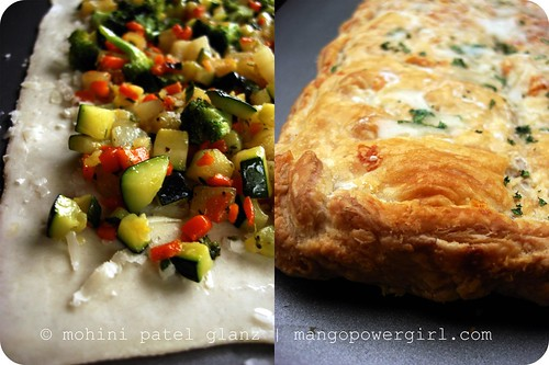 veggie pan pie
